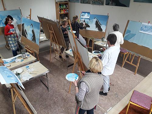 Informationen zur Kunstakademie Wertheim, Akademie für Fotorealismus