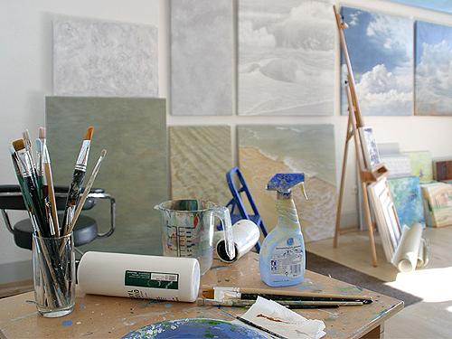 Impressionen Atelier Leoni, Kunstakademie Wertheim, Akademie für Fotorealismus