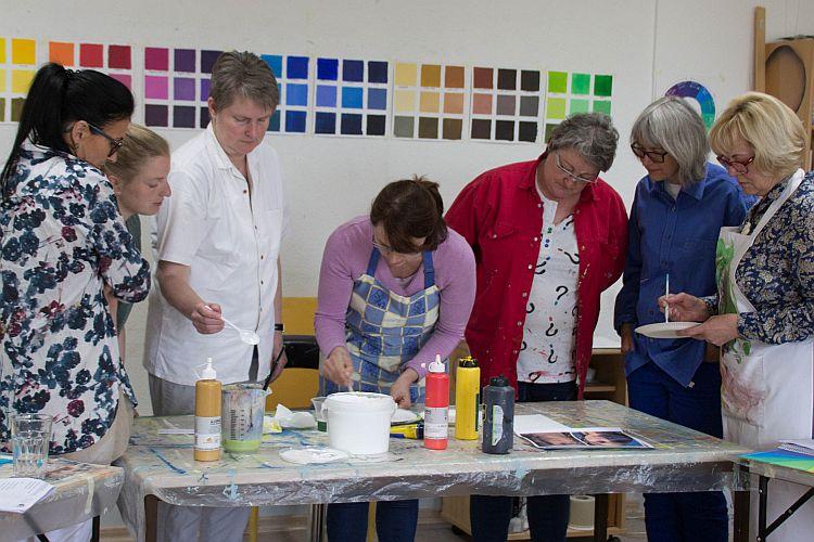 Unterrichtsraum Kunstakademie Wertheim, Akademie für Fotorealismus, Atelier Leoni
