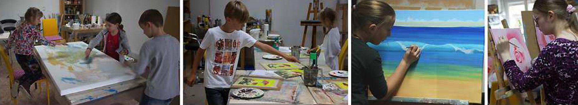 Jugend-Akademie Junge KünstlerKunstakademie Wertheim, Akademie für Fotorealismus, Atelier Leoni