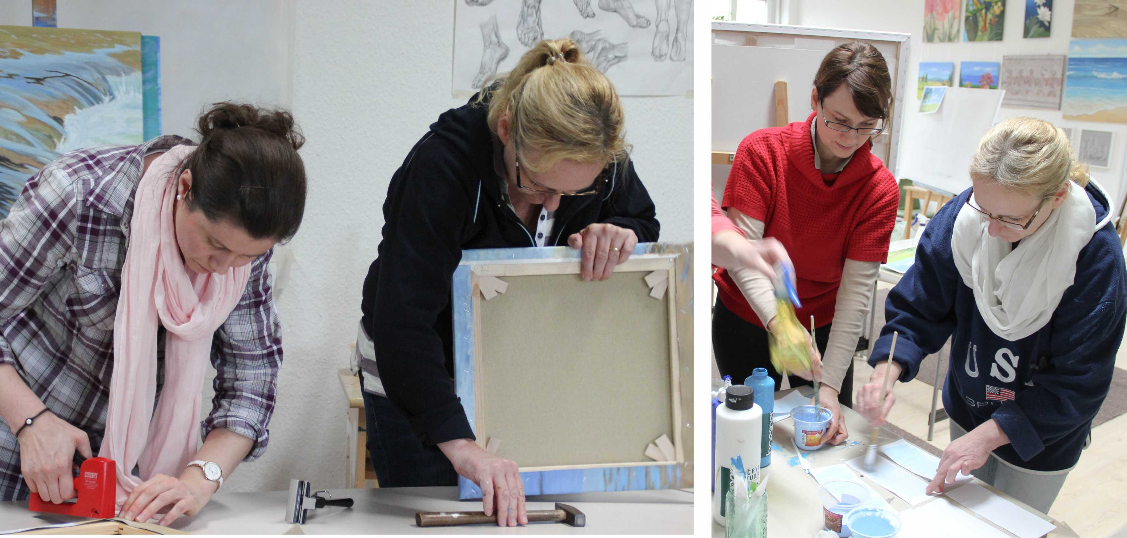 Kurs Basiswissen für Künstler, Kunstakademie Wertheim, Akademie für Fotorealismus, Atelier Leoni