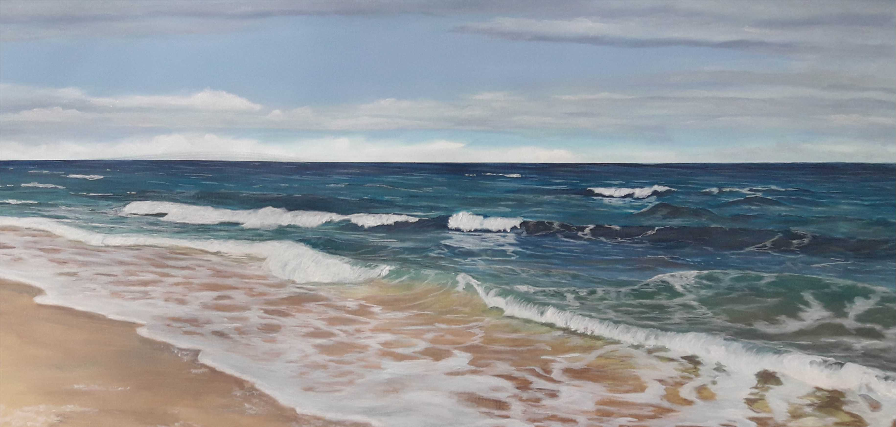 Kurs Himmel, Meer und Strand für Künstler, Kunstakademie Wertheim, Akademie für Fotorealismus, Atelier Leoni