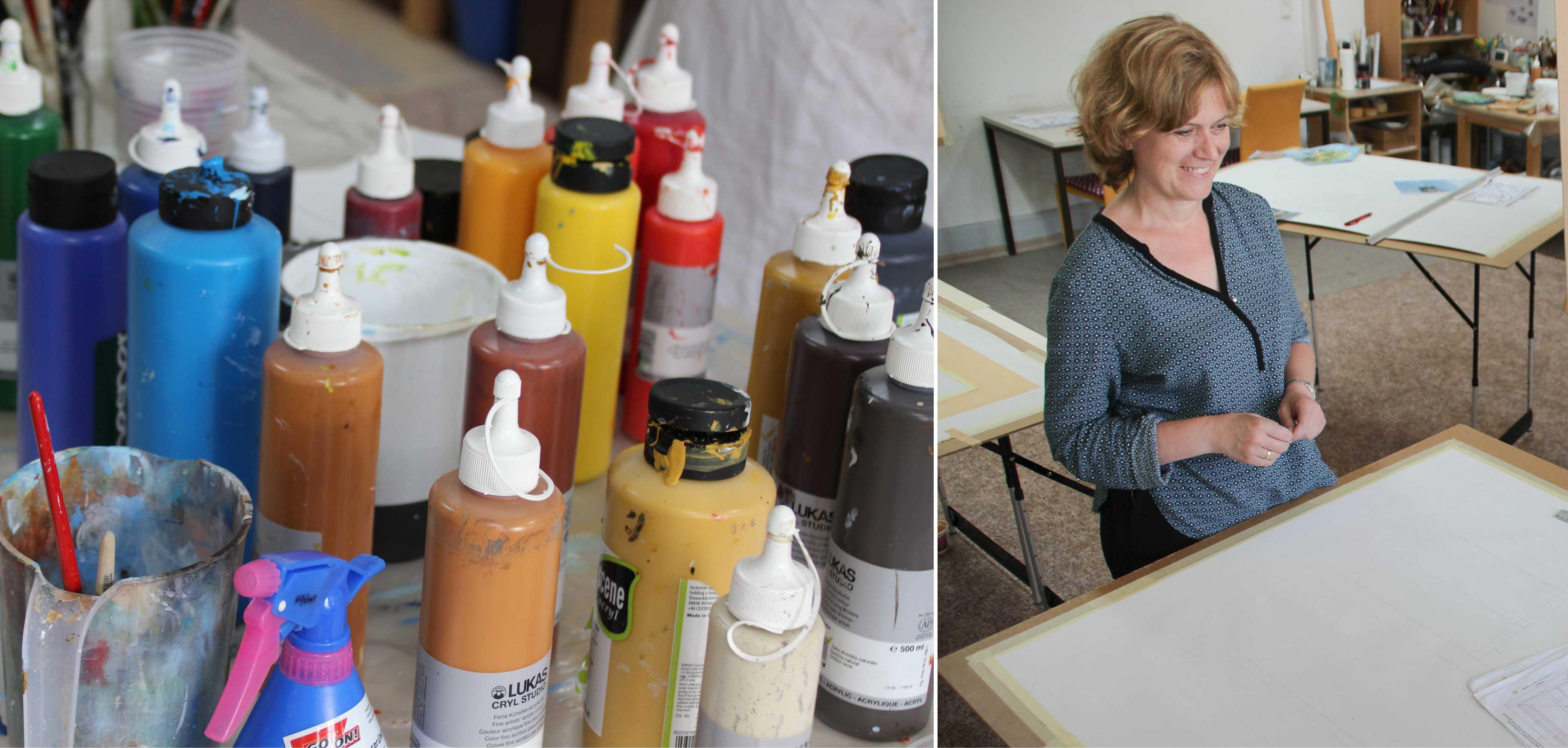 Kurs Bildkomposition für Künstler, Kunstakademie Wertheim, Akademie für Fotorealismus, Atelier Leoni