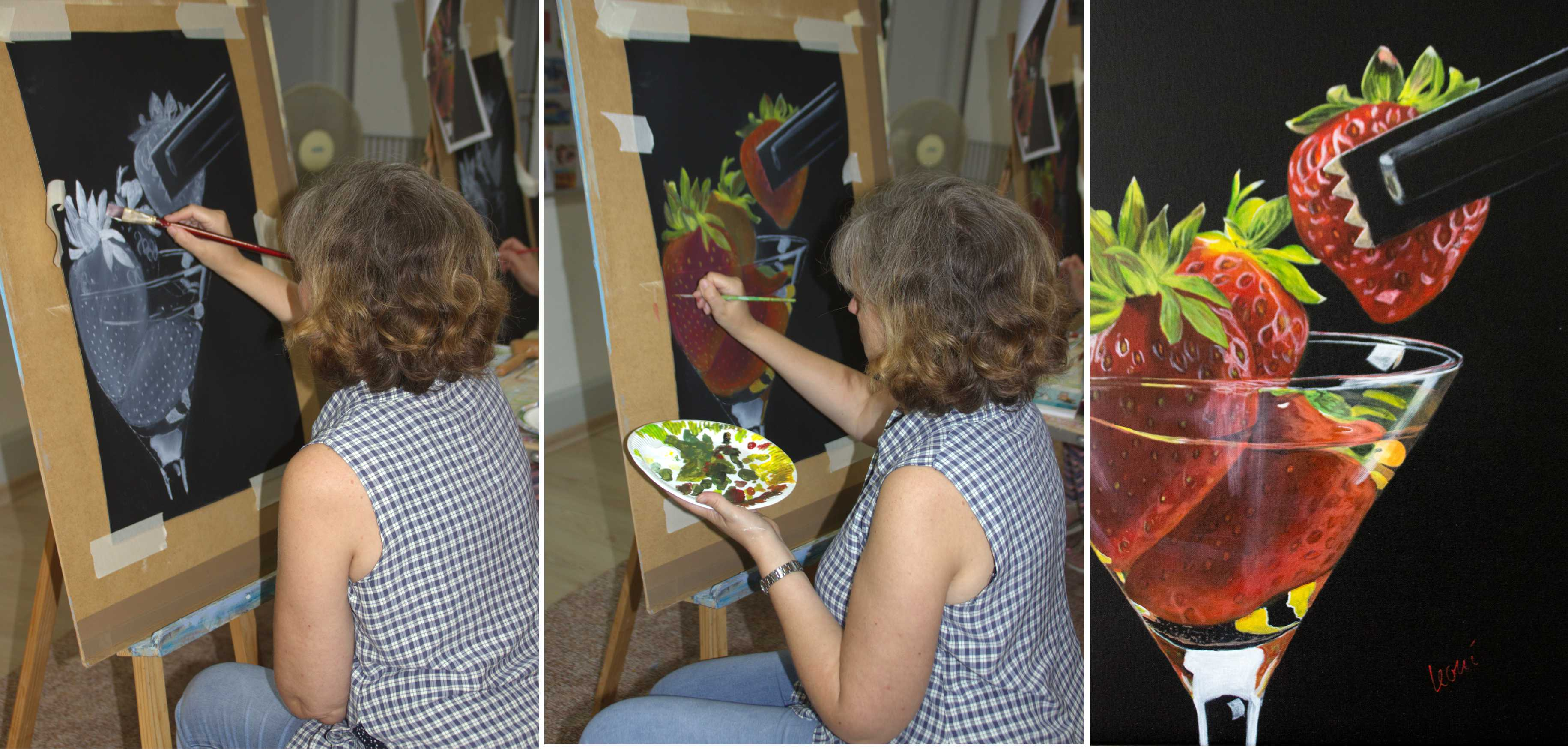 Kurs Stillleben für Künstler, Kunstakademie Wertheim, Akademie für Fotorealismus, Atelier Leoni