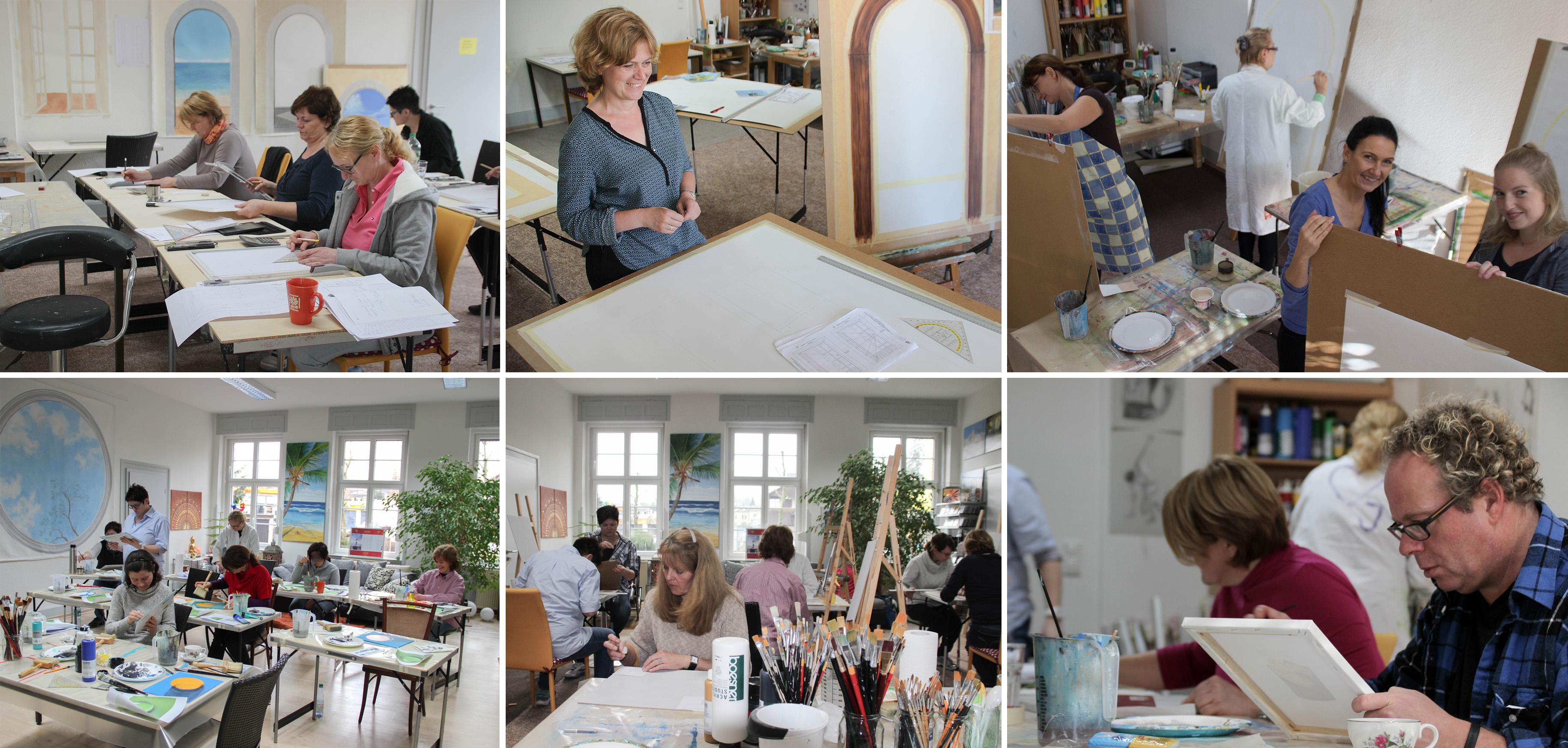 Abschlussarbeit Kunstakademie Wertheim, Akademie für Fotorealismus, Atelier Leoni