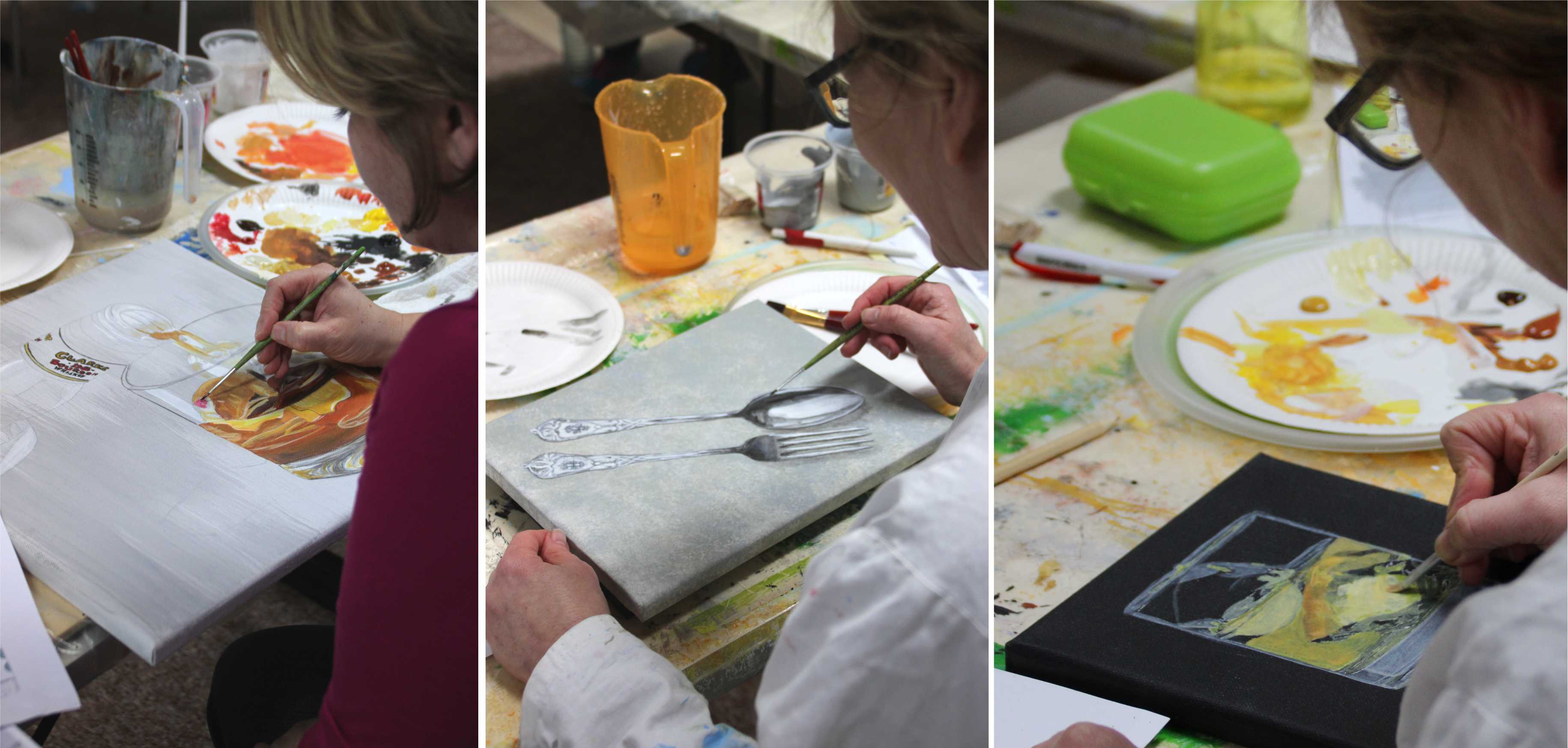 Kurs Kleine Imitationen für Künstler Kunstakademie Wertheim, Akademie für Fotorealismus, Atelier Leoni